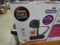 Boxed Nescafe Dolce Gusto Delonghi Infinissima coffee dispenser
