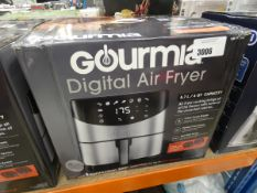 (65) Boxed Gourmia Digital Air fryer