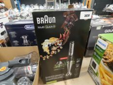 Boxed Braun Multi Quick 9 hand whisk
