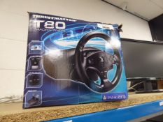 Thrustmaster T80 racing wheel in box