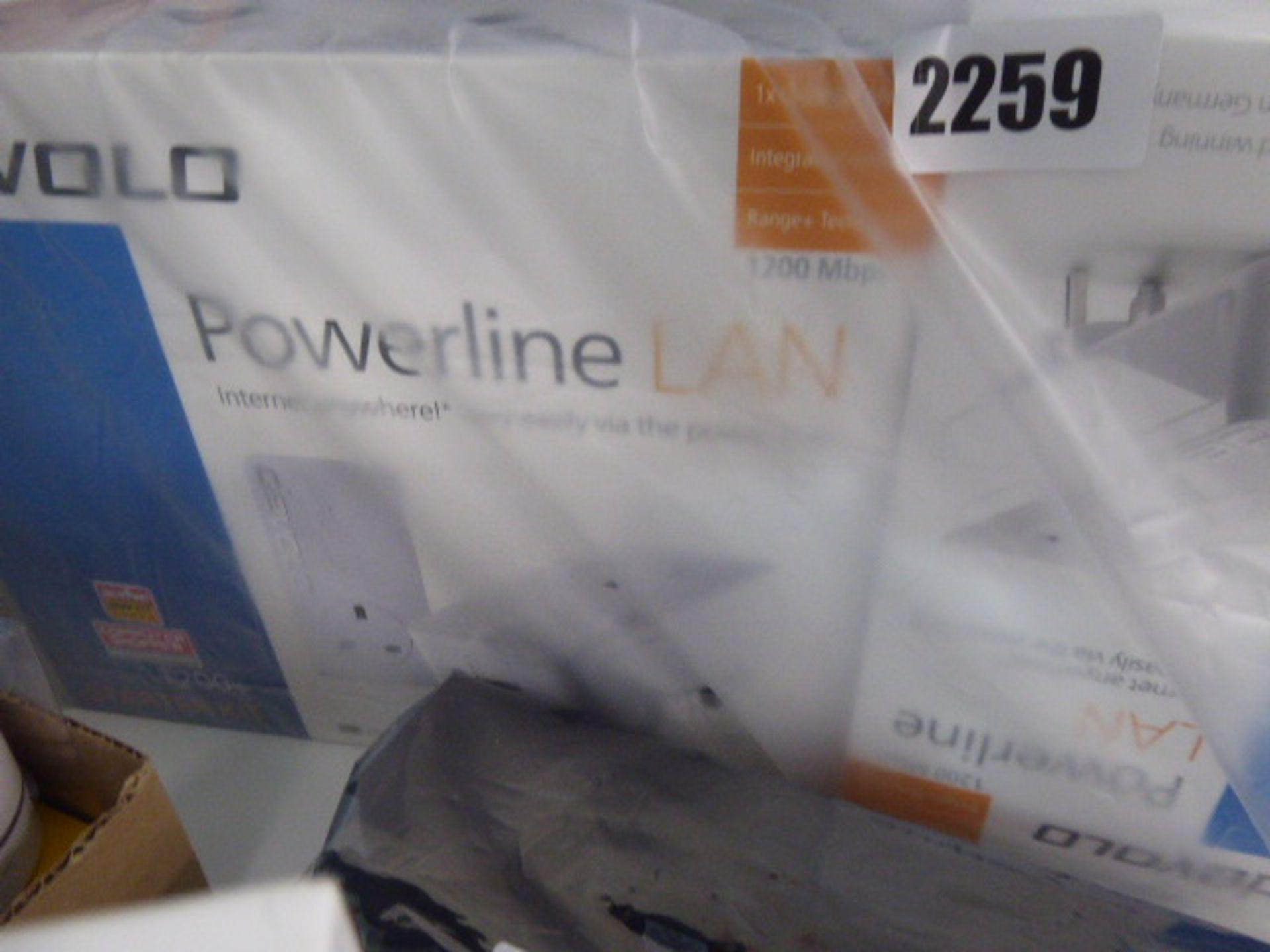 Lot 2259 - Devolo Power Line network extenders