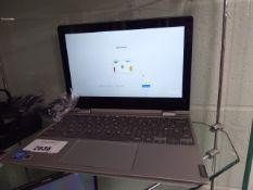 Lenovo Chromebook model C3140-11, Intel N4000 cpu, 4gb ram, 64gb memory with psu in box
