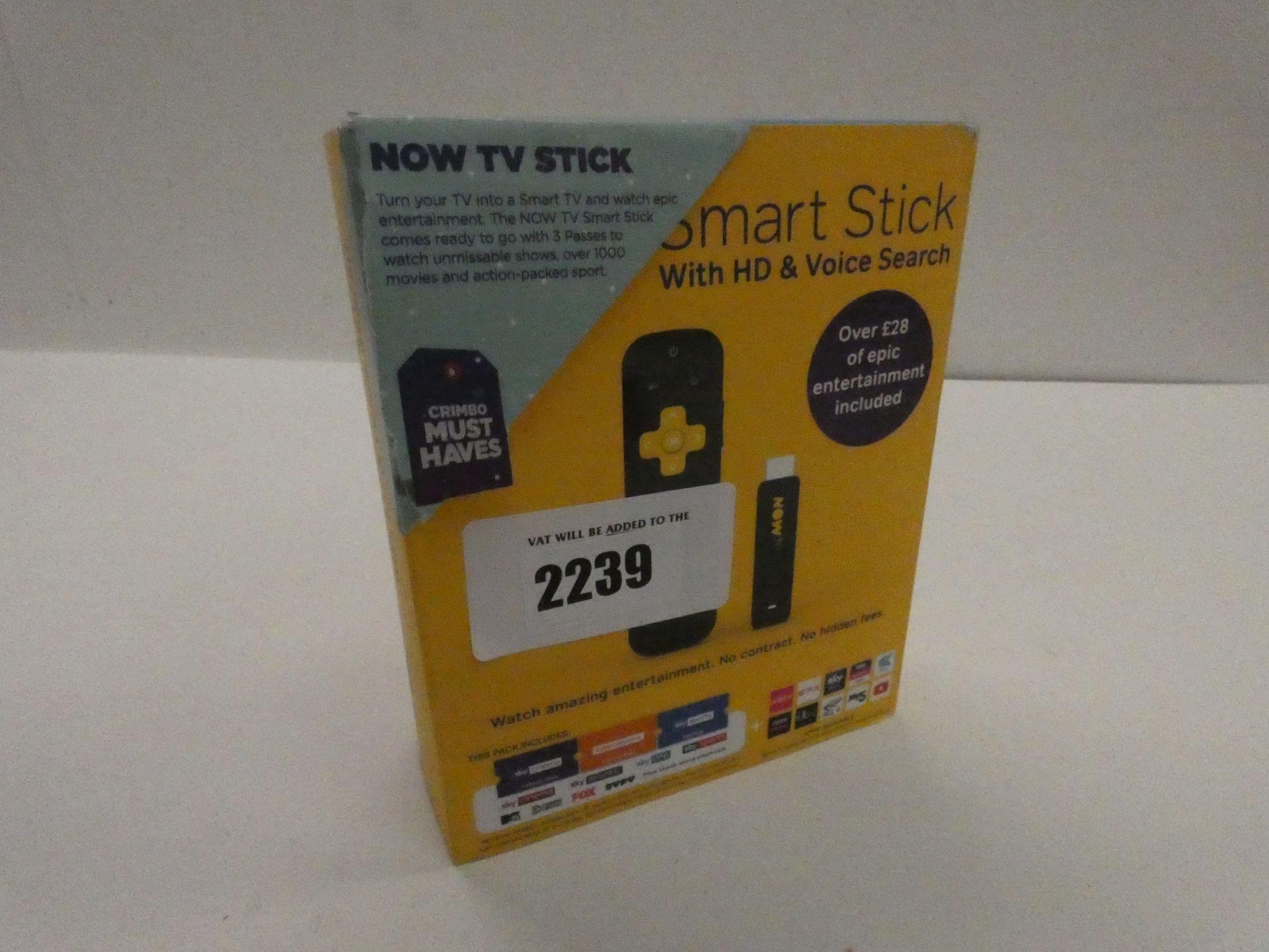 Lot 2239 - NowTV Smart Stick
