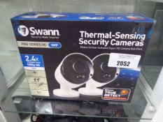 2 Swann thermal sensing security cameras inbox