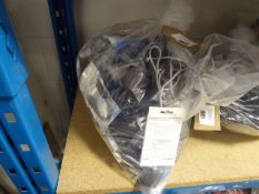 Bag of various electrical sundries inc. cables, power adaptors, routers