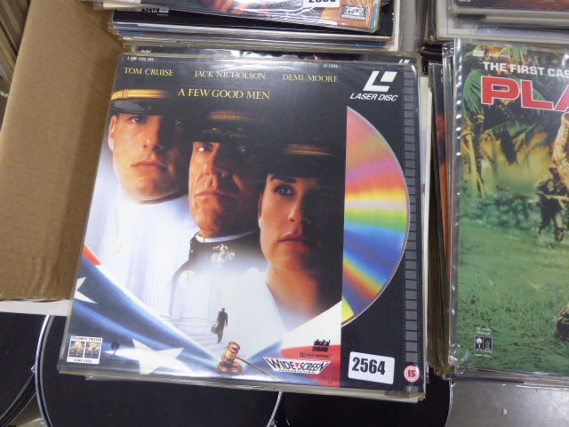 Lot 2564 - Approx 20 Pioneer and other laser disk movies to inc. A Few Good Men, Boyz in the Hood, Return to