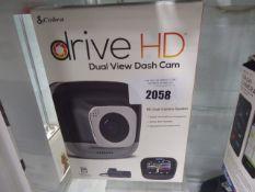 Drive HD dash cam system in box