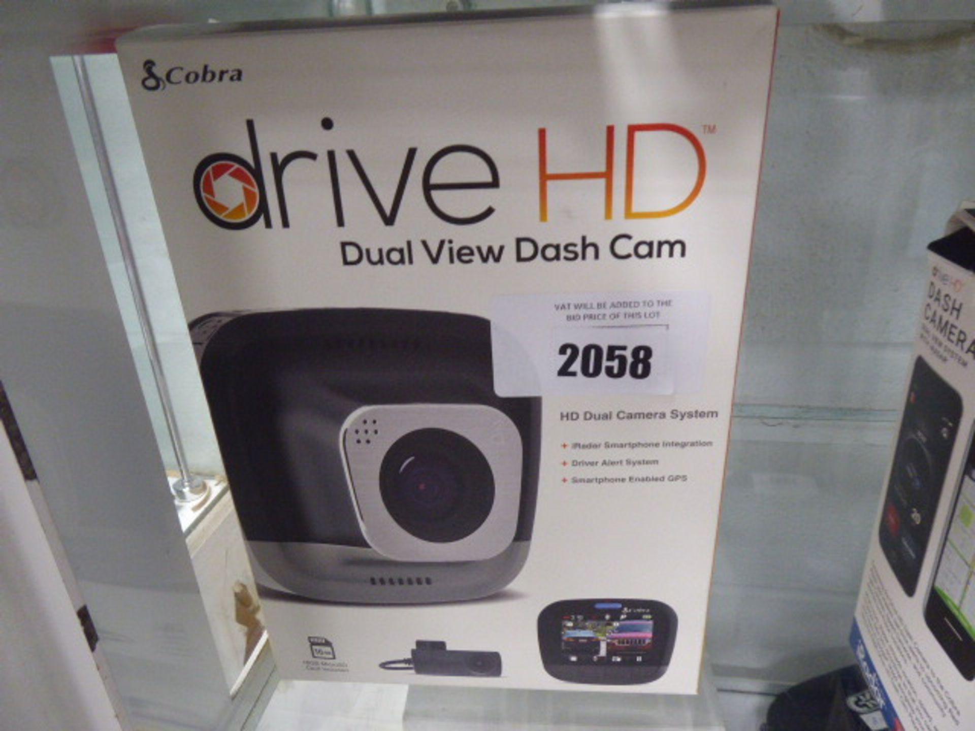 Lot 2058 - Drive HD dash cam system in box