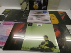 Box containing quantity of various LP and 45 records to include Erland Cooper, Catfish and the