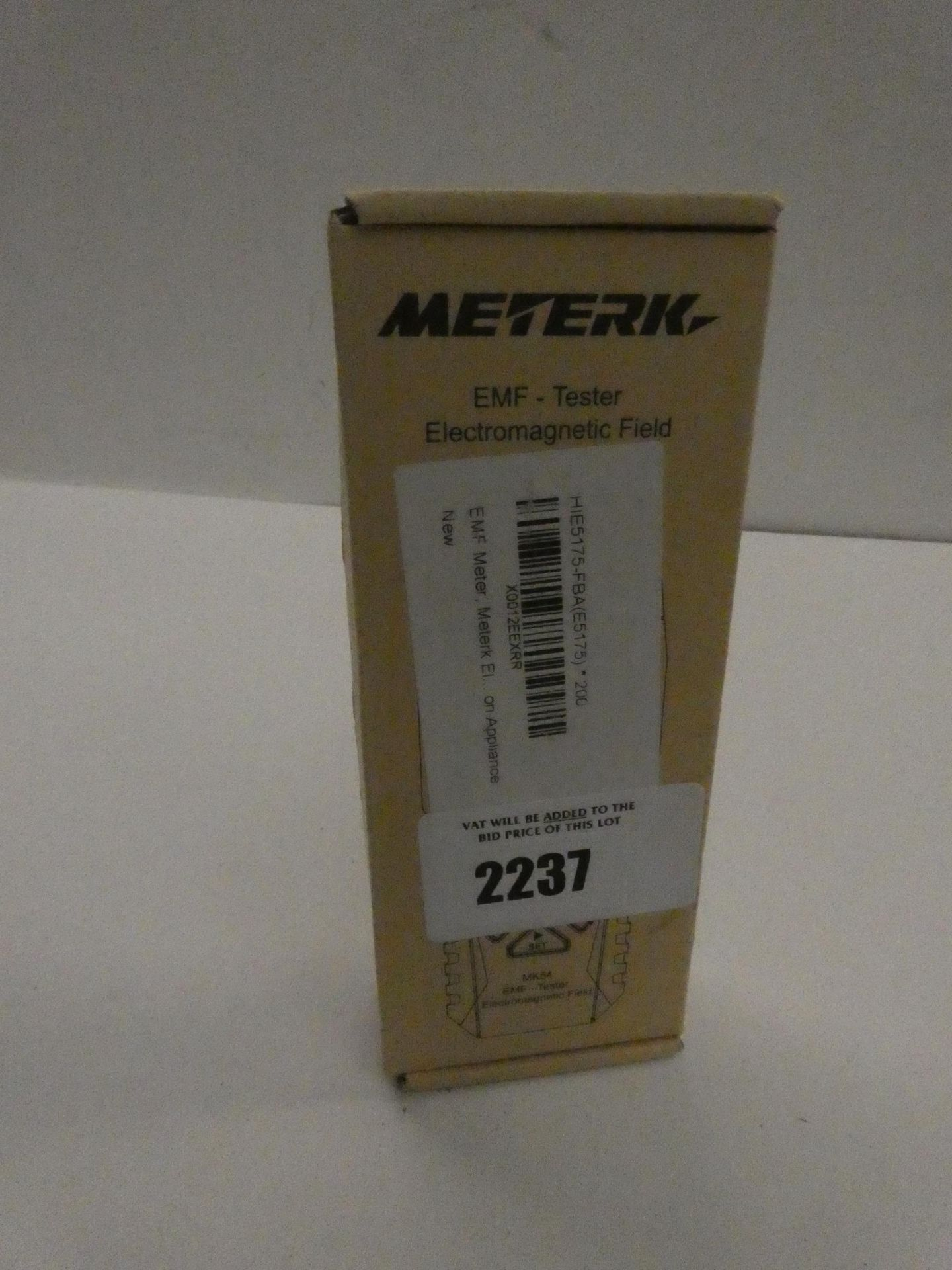 Lot 2237 - Meterk EMF tester