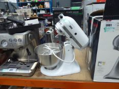 (75) Unboxed Kitchen Aid Classic mixer with 3 attachments