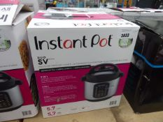 3013 Boxed instant pot multi use pressure cooker
