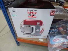 (86) Boxed Kenwood K-Mix mixer (missing bowl)