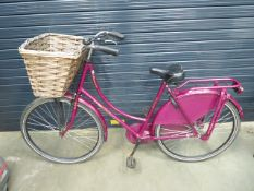 Seref ladies bike with basket and front rack