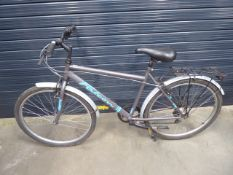 4033 - Falcon grey and blue gents bike