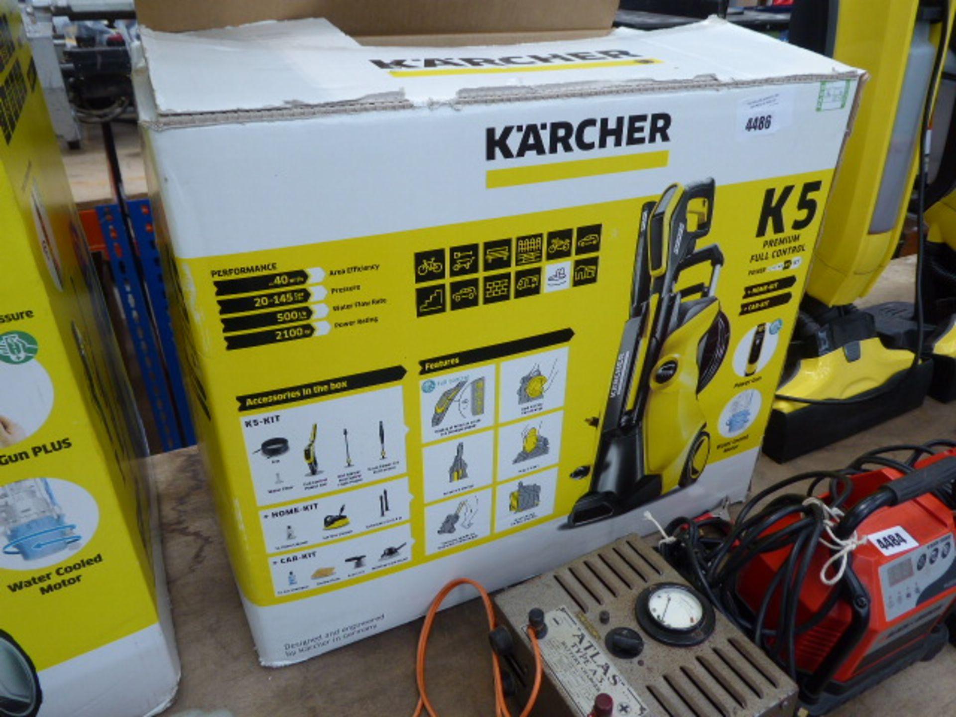 Lot 4486 - 4429 Karcher K5 electric pressure washer