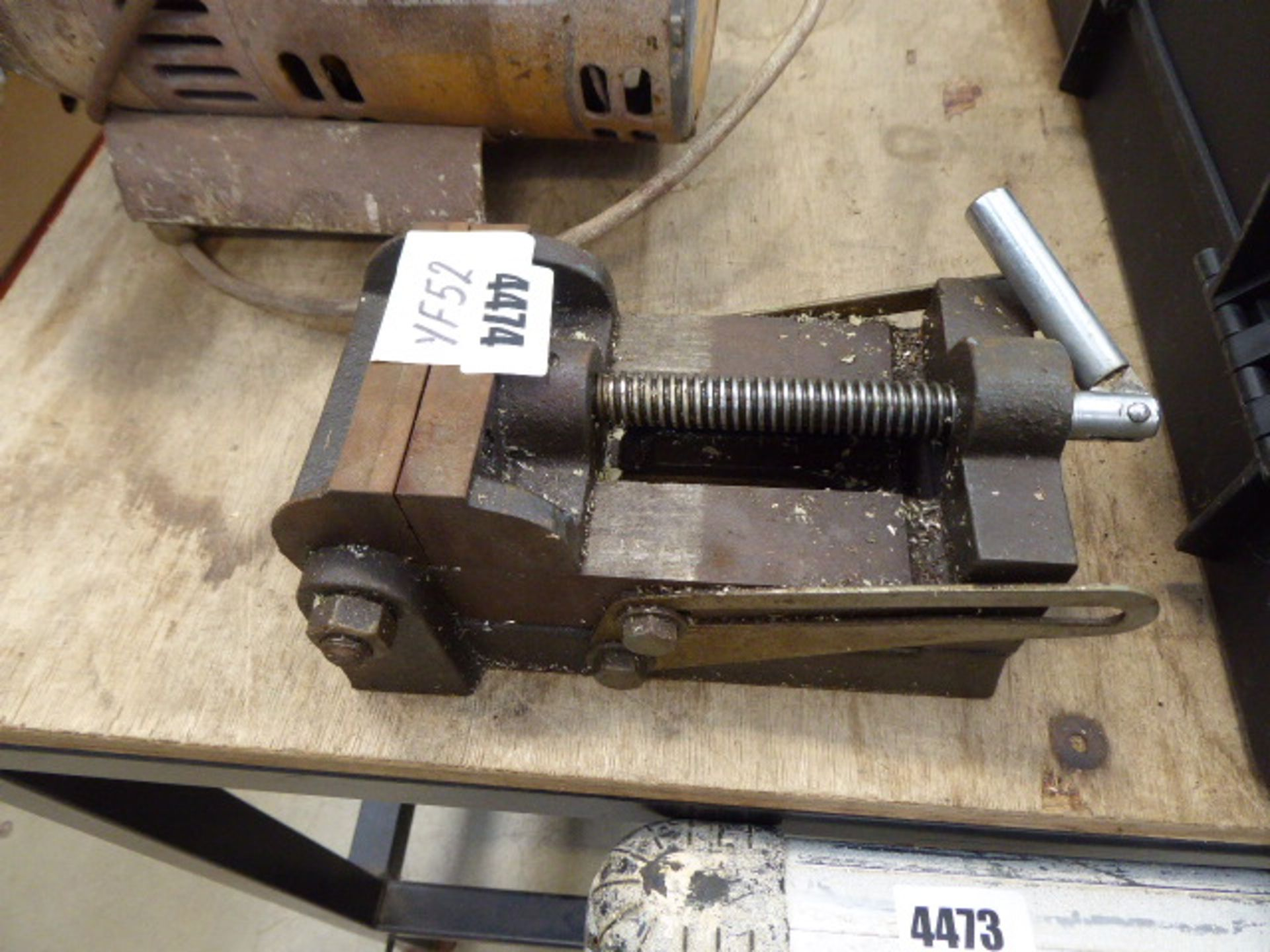 Lot 4474 - Small engineers vice