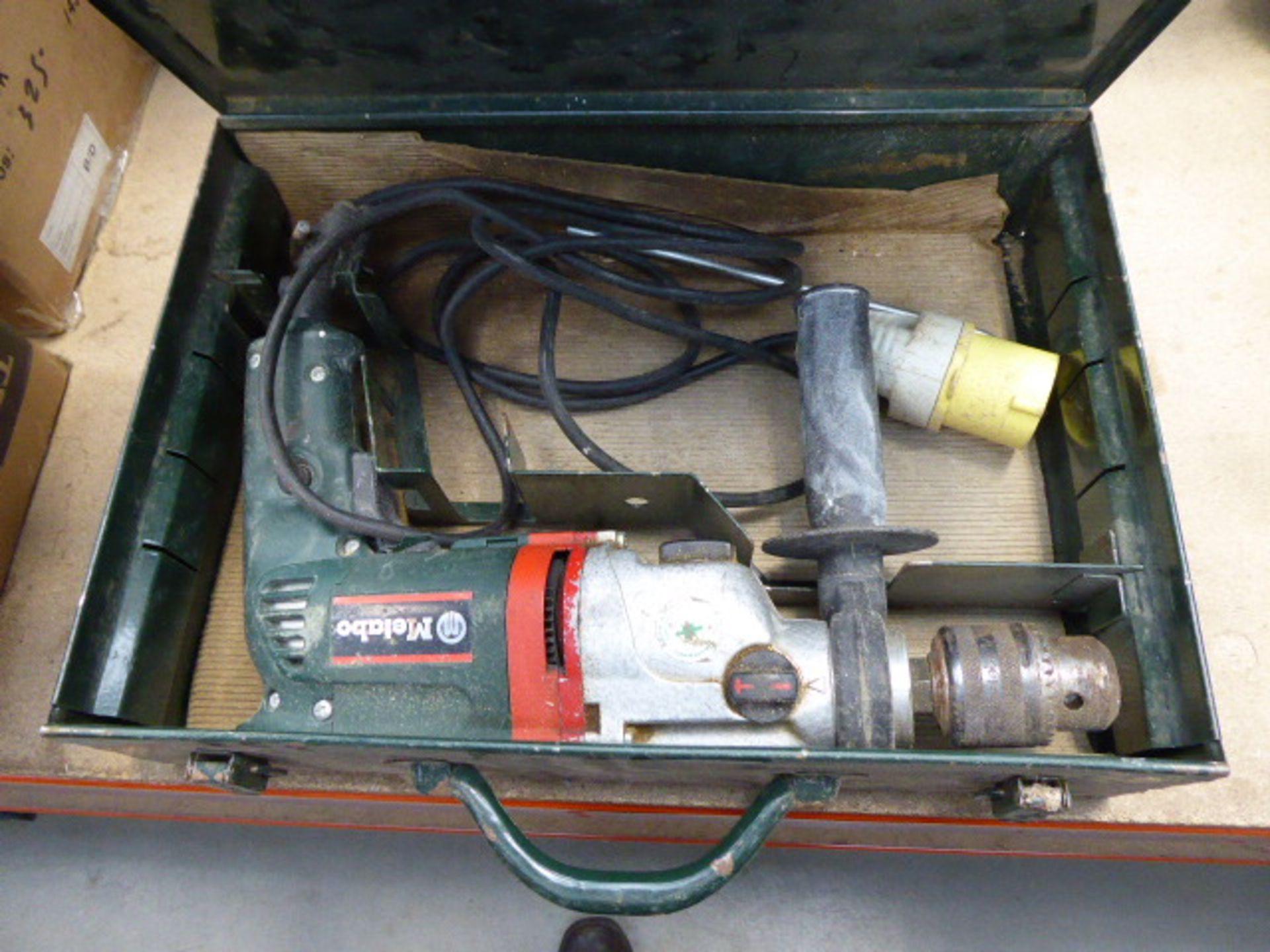 Lot 4530 - 4401 Metabo 110v drill