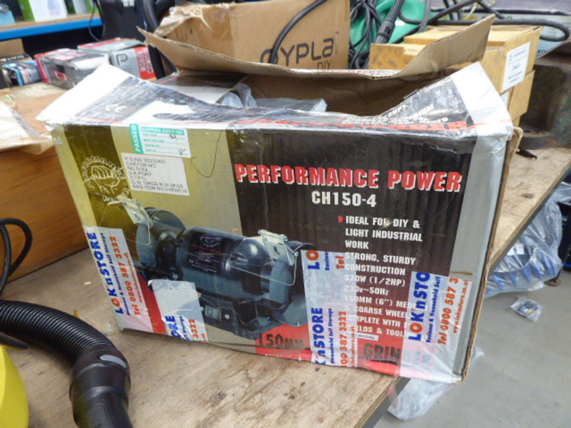 Lot 4503 - Double ended bench grinder, boxed