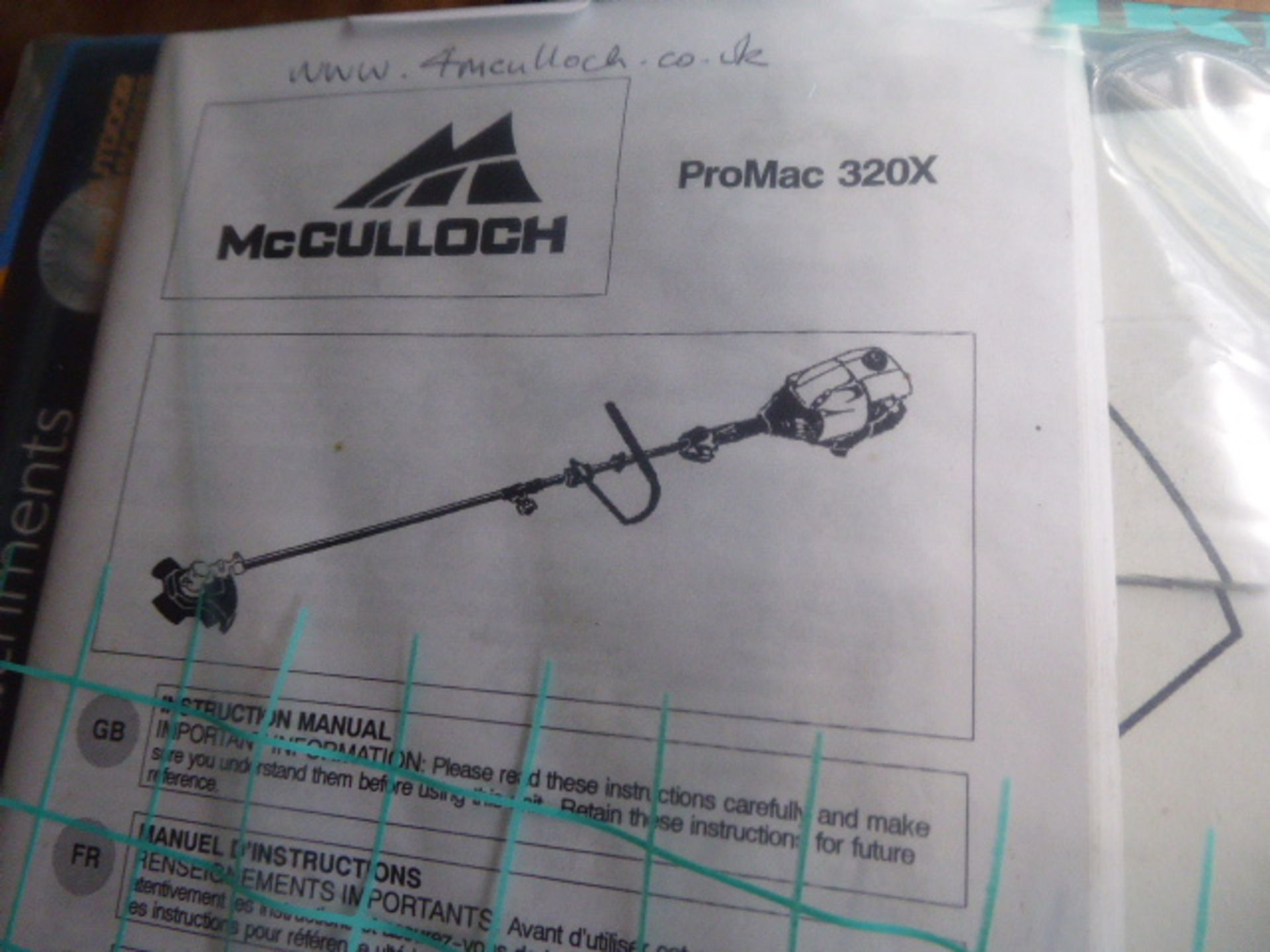 Lot 4055 - McCulloch petrol powered brushcutter