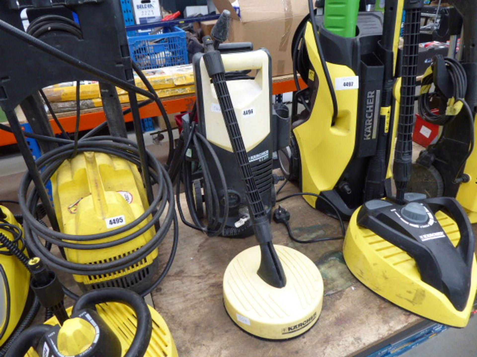 Lot 4496 - 4432 Karcher K2 electric pressure washer