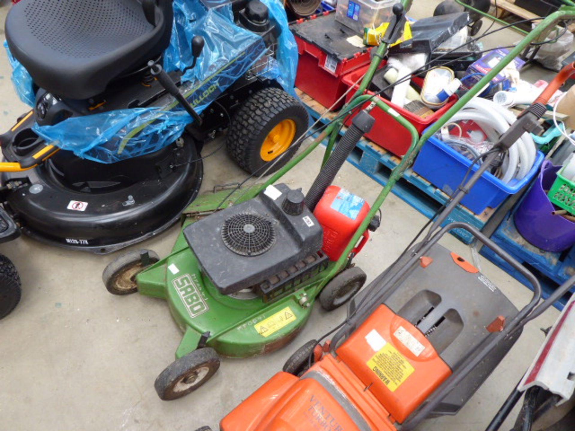 Lot 4283 - Sabo petrol powered rough cut mower