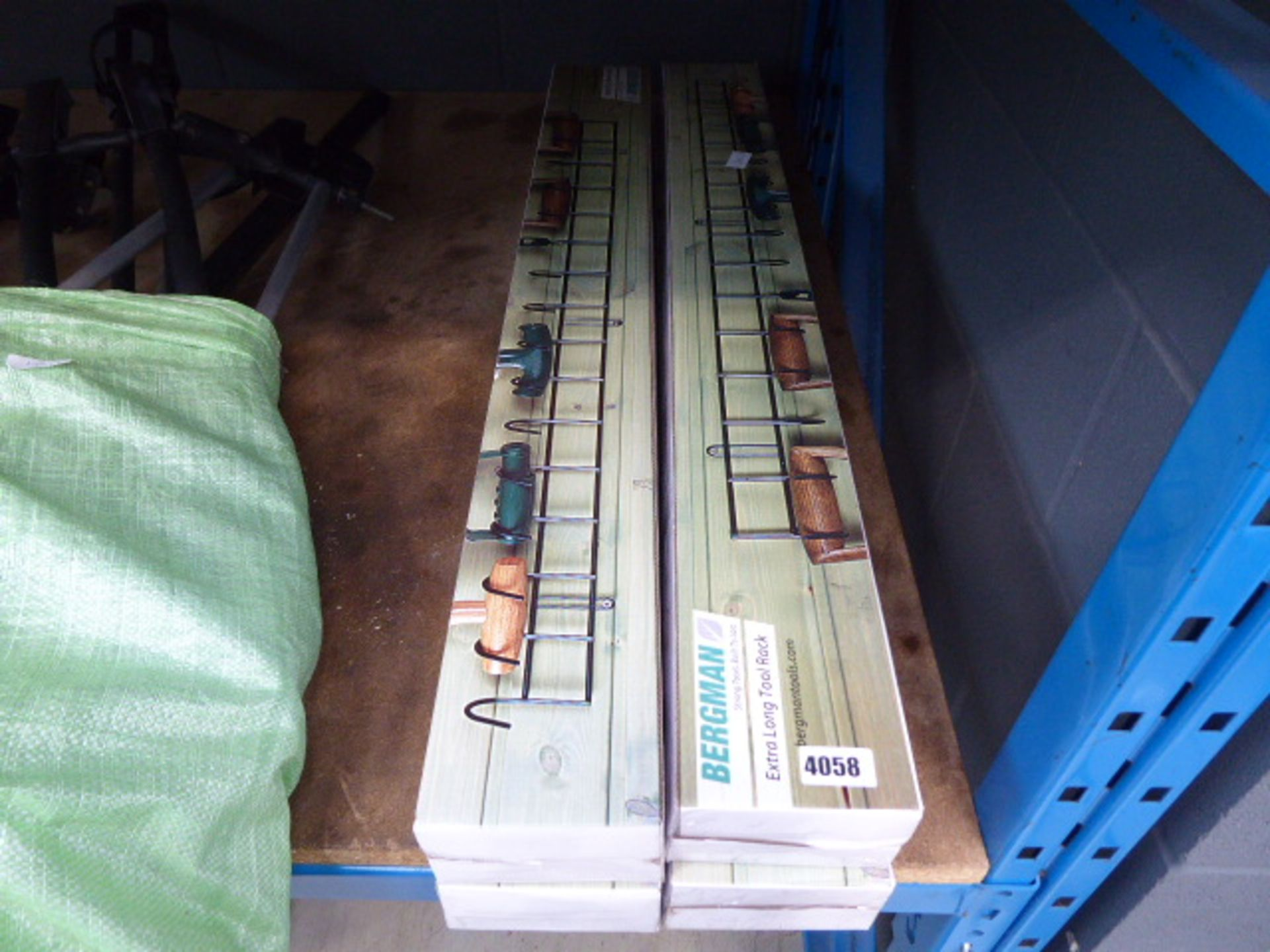 Lot 4058 - 4 boxes of tool racks