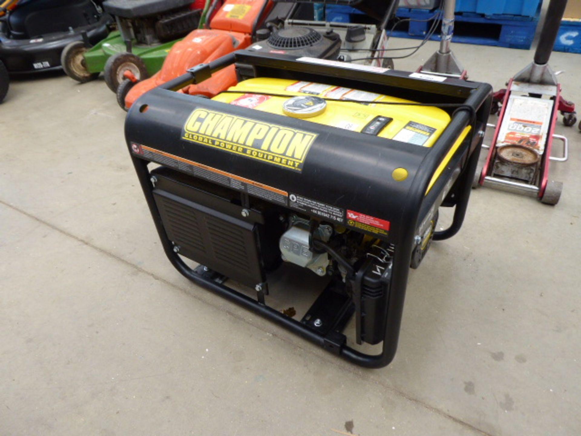 Lot 4280 - Champion petrol powered generator