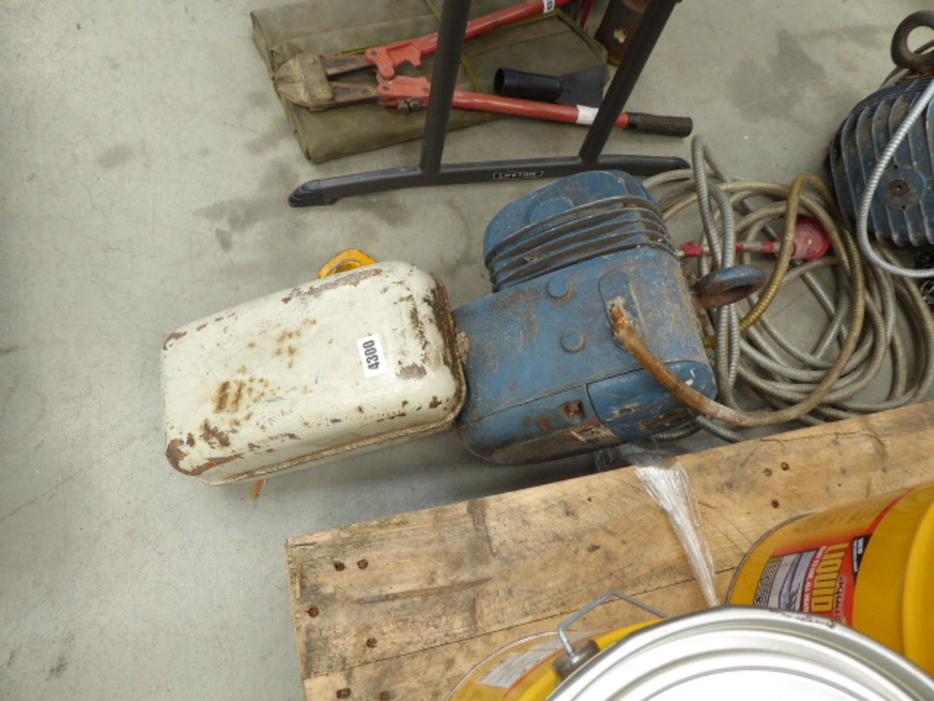 Lot 4300 - Large electric hoist