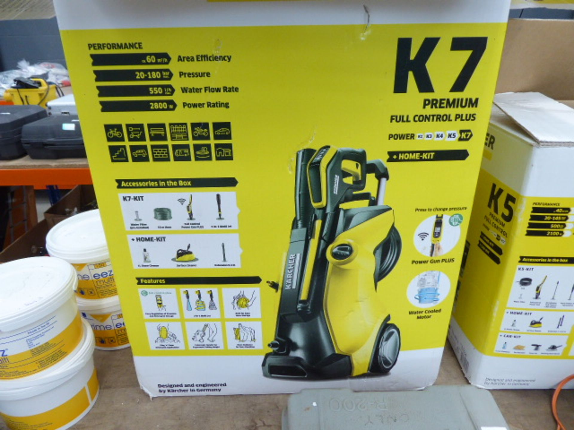Lot 4485 - 4428 Karcher K7 electric pressure washer, boxed