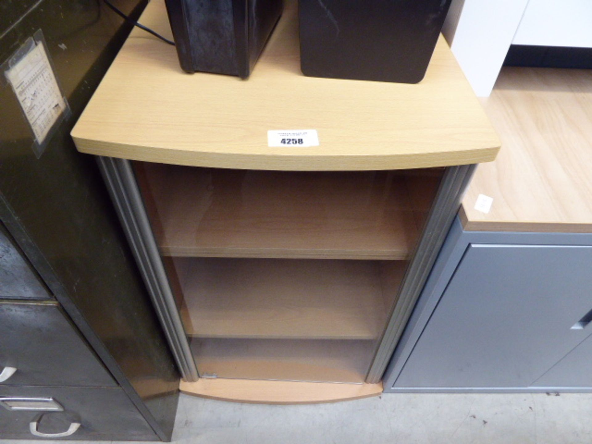 Lot 4258 - Stereo cabinet