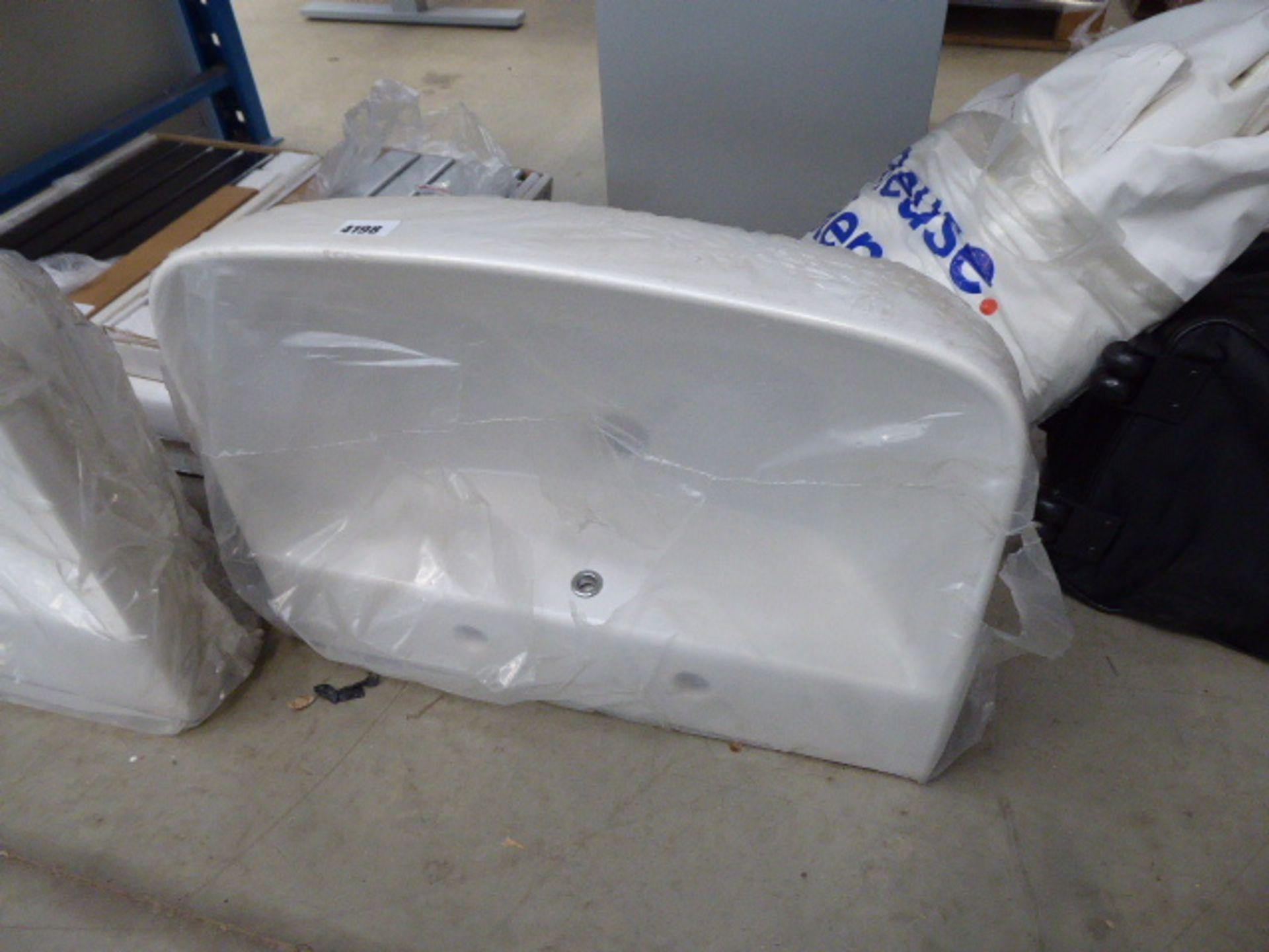 Lot 4198 - White wash basin