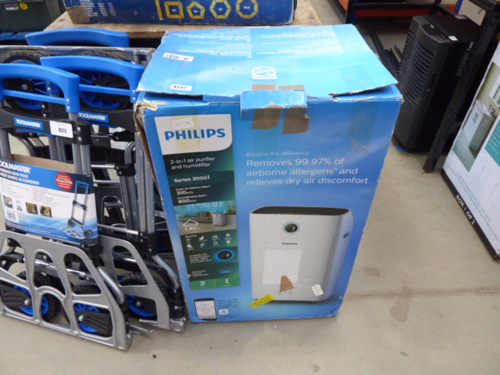 Lot 4512 - Philips air purifier and humidifier