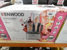 80 Boxed Kenwood multi pro compact food processor