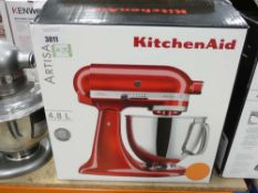 95 Boxed Kitchen Aid Harister 4.8L mixer