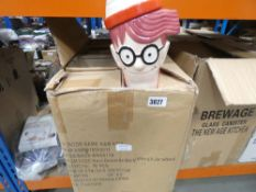 Box of Wheres Wally biscuit jars
