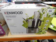 19 Boxed Kenwood multi pro compact food processor