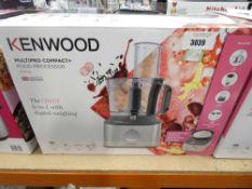 98 Boxed Kenwood multi pro compact food processor