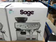 90 Boxed Sage Barister Express coffee machine