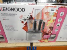 99 Boxed Kenwood multi pro compact food processor