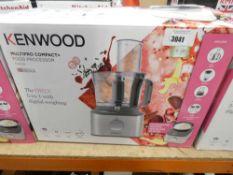100 Boxed Kenwood multi pro compact food processor