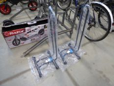Two bike stands
