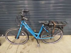 Vitesse Pulse electric bike in electric blue with battery, no charger
