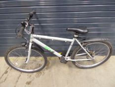 Ridge mountain bike in silver