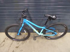 Pinnacle mountain bike in two-tone blue