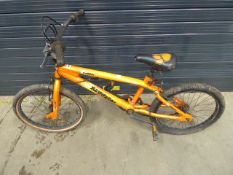 Muddyfox child's bike in orange