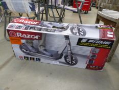 Boxed Razor electric scooter with charger