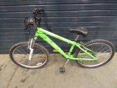 Raleigh Edge child's bike in green