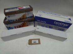 Bag containing toner cartridges