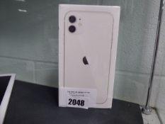 1049 iPhone 11 128GB White (sealed)